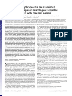 High Levels of Erythropoieitn Are Associated With Protection Against Neurological Sequelae in African Children With Cerebral Malaria