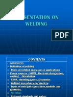 Welding Types Procedures Parameters