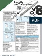 HX94 HumiditySens Brochure