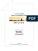 Case Book UC Berkley Haas 2006
