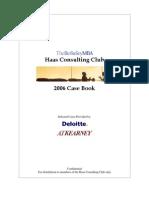 Case Book UC Berkley Haas 2006
