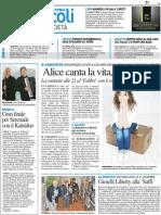 RESTO DEL CARLINO, FORLI, Mostra ''Romagna Liberty''