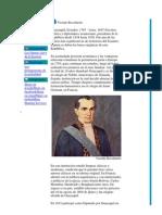 Biografia de Vicente Rocafuerte