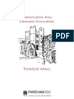 titchfield abbey conservation area character assessment