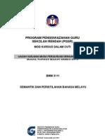 Modul BMM3111Semantik