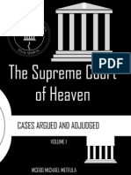 The Supreme Court of Heaven