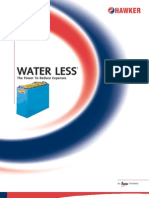 Water Less Brochure