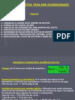 DISEÑO DE DUCTOS PARA AIRE ACONDICIONADO
