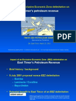 Timor Sea Petroleum Semina Dili Presentation 23 Mar 2002 by GAMcKee