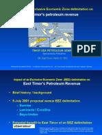 Timor Sea Petroleum Semina Dili Presentation 23 Mar 2002 by GAMcKee