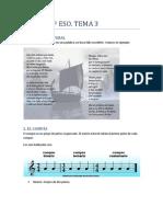 Música 1º de ESO, Tema 3