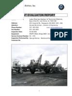 Reclaimer Inspection Report