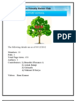 Report October - November 2012