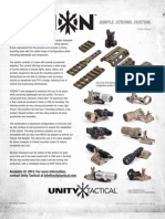 Unity Tactical Fusion mount system