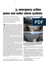 1 Dam Safety, Emergency Action Plans and Water Alarm Systems