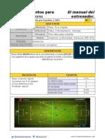 3# Salida por bandas @ El manual del entrenador 2.0