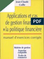 Applications et Cas de Gestion Financière