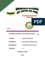 Informe General de Laboratorio