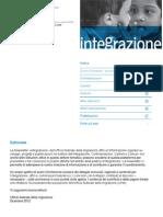 Integrazione - Newsletter Dicembre 2012 Ufficio Federale Della Migrazione