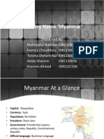 Myanmar Country Profile