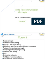 Lecture 1 -Telecommunication Overview