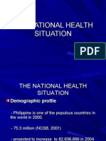 National Health Situation