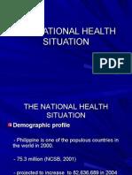 National Health Situation