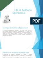 Informe de La Auditoria Operacional