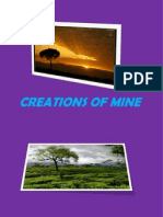 Creations of Mine