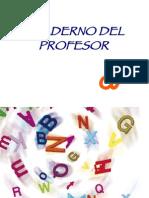 CUADERNO DEL PROFESOR D. DISLEXIA