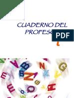 CUADERNO DEL PROFESOR T. DISLEXIA
