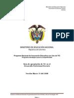 Apropiación de TIC en el Desarrollo Profesional  Docente 1