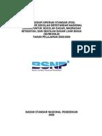 Pos Uasbn Untuk Sd Mi Sdlb Tahun Pelajaran 2008 - 2009