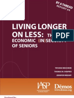 Living Longer on Less