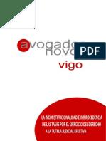 Informe Tasas Judiciales Agrup Avog Novos Vigo