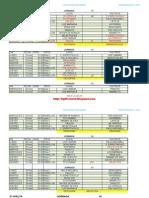 Calendario Enero y Febrero 2013