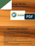 Breakfast Television - PR Plan