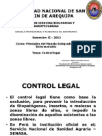 Control Legal 2012
