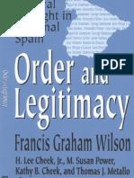 Order and Legitimacy (Transaction/Rutgers, 2004)