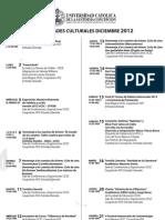 Programacion DICIEMBRE 2012IV