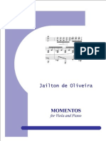 Momentos for Viola and Piano - Full Score