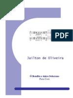 Ó Bendito e Único Soberano for Mixed Chorus