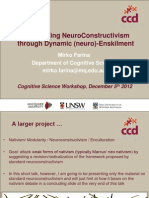 Re-Thinking NeuroConstructivism through Dynamic (neuro) Enskilment