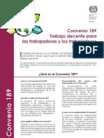 Qué es el Convenio 189 de OIT