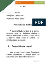 01 - Direito Civil - Pablo Stolze - Aula 01