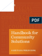 Handbook for Community Solutions
