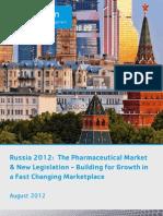 Cegedim - Russia Pharma Market - Aug 2012