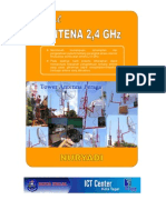 Modul Antenna 2,4 GHz