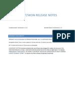 Spring 2012 Release - CorrigoNet Version 7.6a