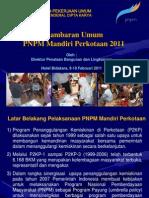 Gambaran Umum PNPM Mandiri Perkotaan Tahun 2011